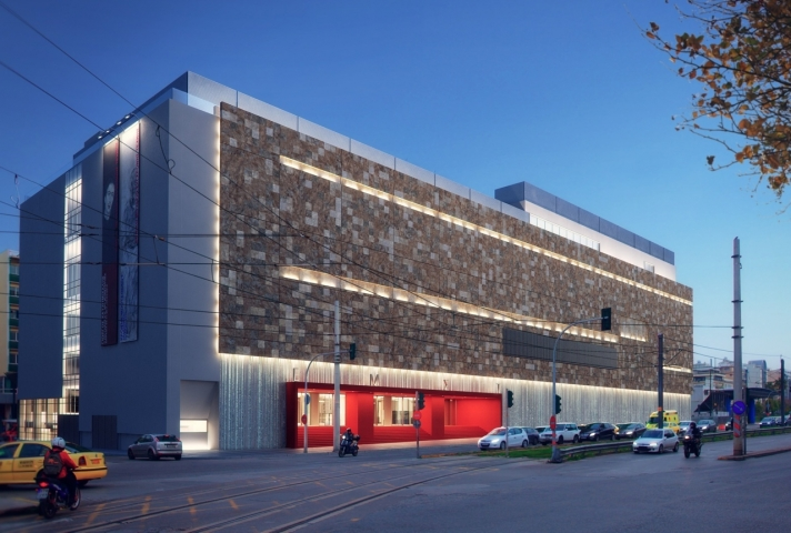 The FIX Building: The New Home of the National Museum of Contemporary Art is Unveiled
