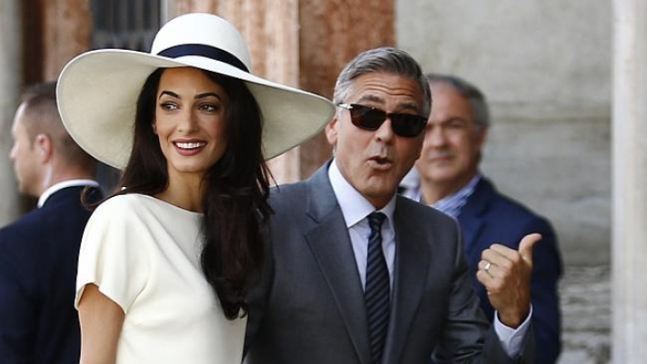 Clooney's wife Amal Alamuddin to advise Greece on Elgin marbles bid