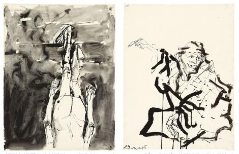 Georg Baselitz: Recent Works On Paper