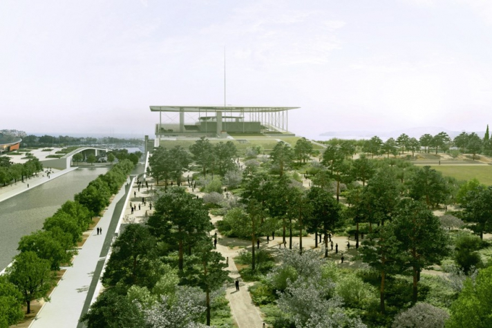 Redesigning Faliro Bay: Stavros Niarchos Cultural Center